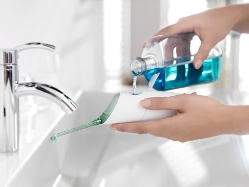 Philips Sonicare AirFloss test Munddusche HX8211 mundwasser
